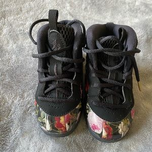 Nike Foamposite Floral Infant 7C